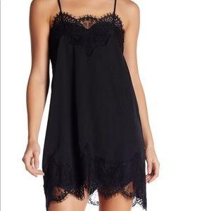Storia Black slip dress
